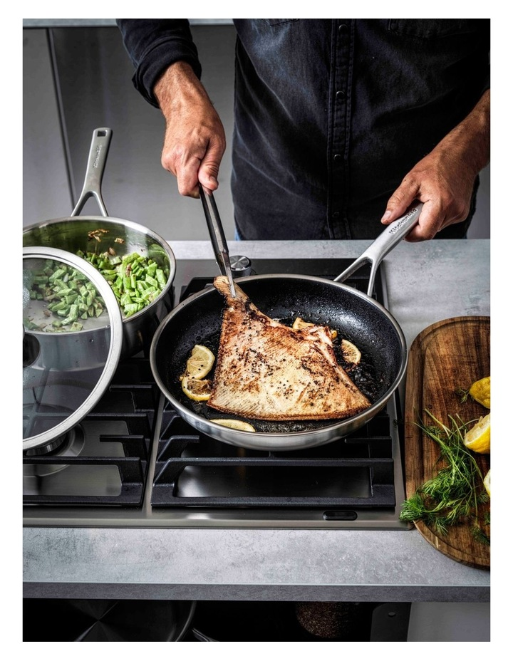 Multi-Ply Stainless Steel Coated Frypan 20cm image 3