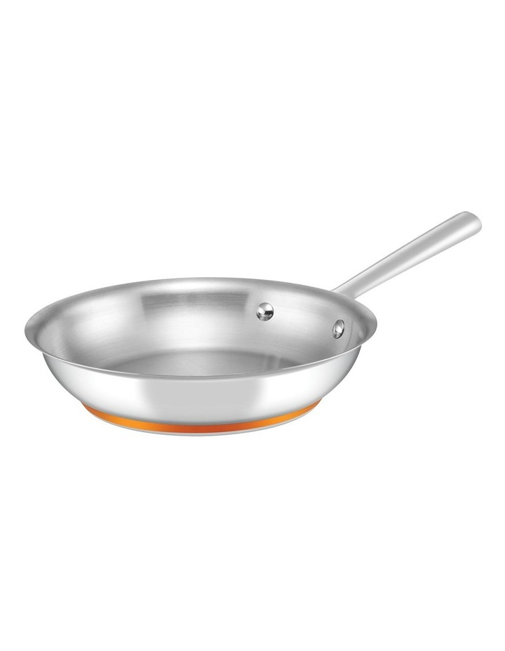 Per Vita Stainless Steel 24cm Stainless Steel Induction Open French Skillet image 1