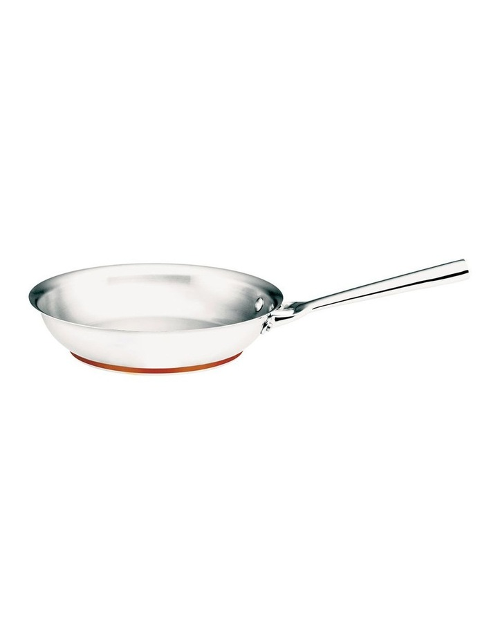 Per Vita 24cm Stainless Steel Open French Skillet image 1