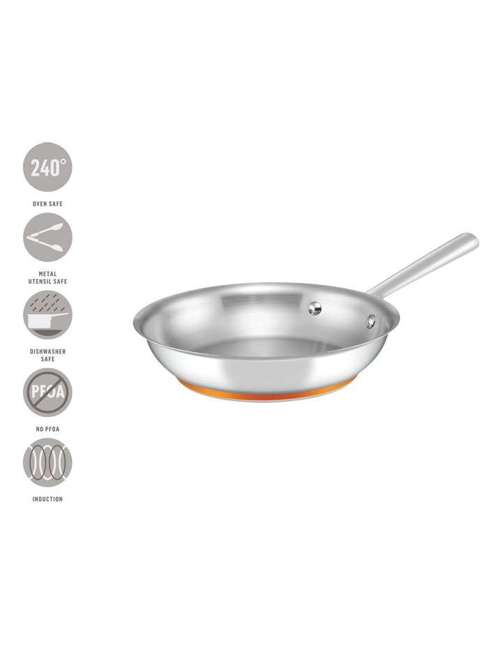 Per Vita Stainless Steel 24cm Stainless Steel Induction Open French Skillet image 4