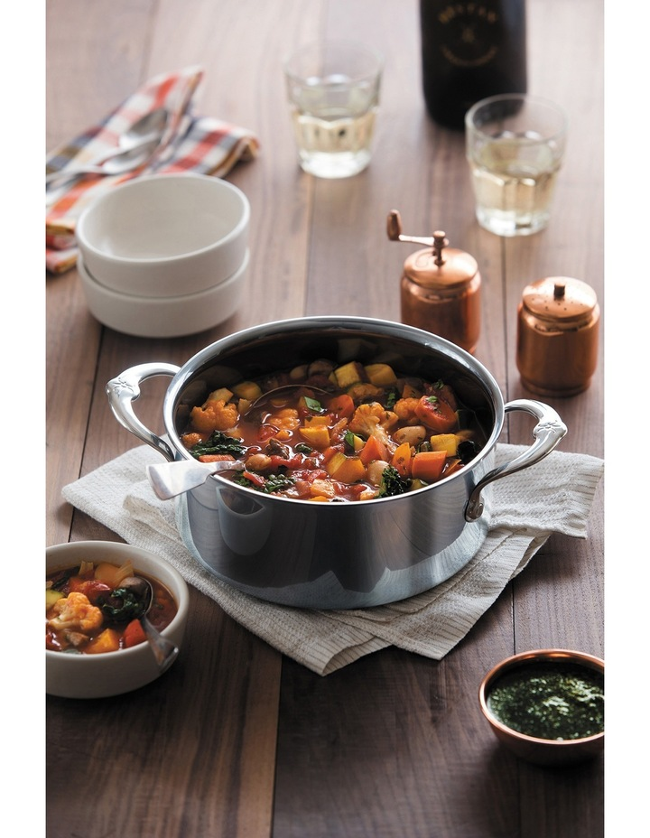 Nanobond Covered Stockpot, 26cm/7.6L: Made in Italy image 2