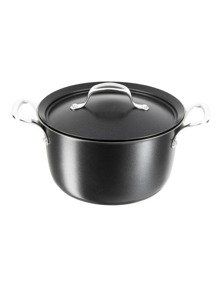 Experience Cast Aluminium Ceramic Coated Stew Pot with Condensation Lid  26cm image 1