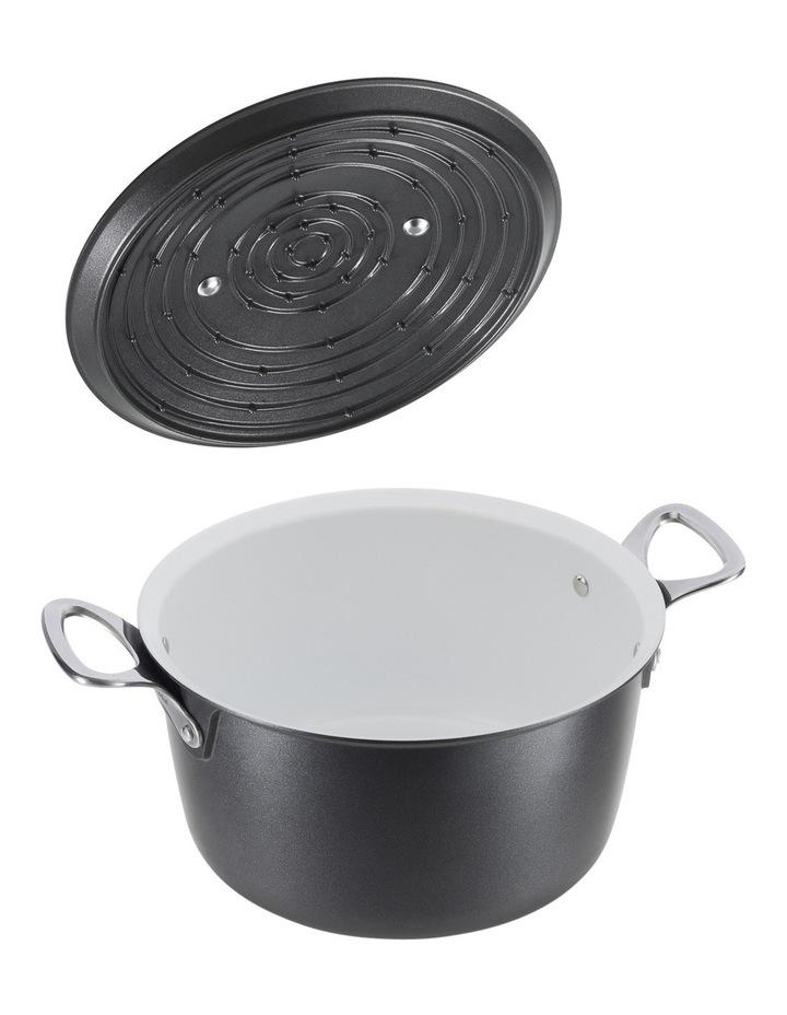 Experience Cast Aluminium Ceramic Coated Stew Pot with Condensation Lid  26cm image 2
