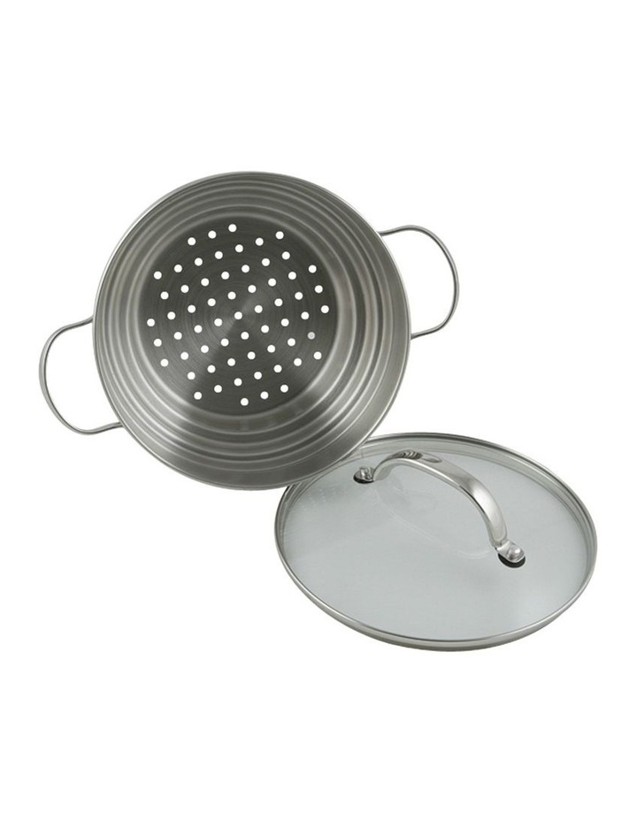 CUISINE 16/18/20CM UNIVERSAL STEAMER WITH LID image 1