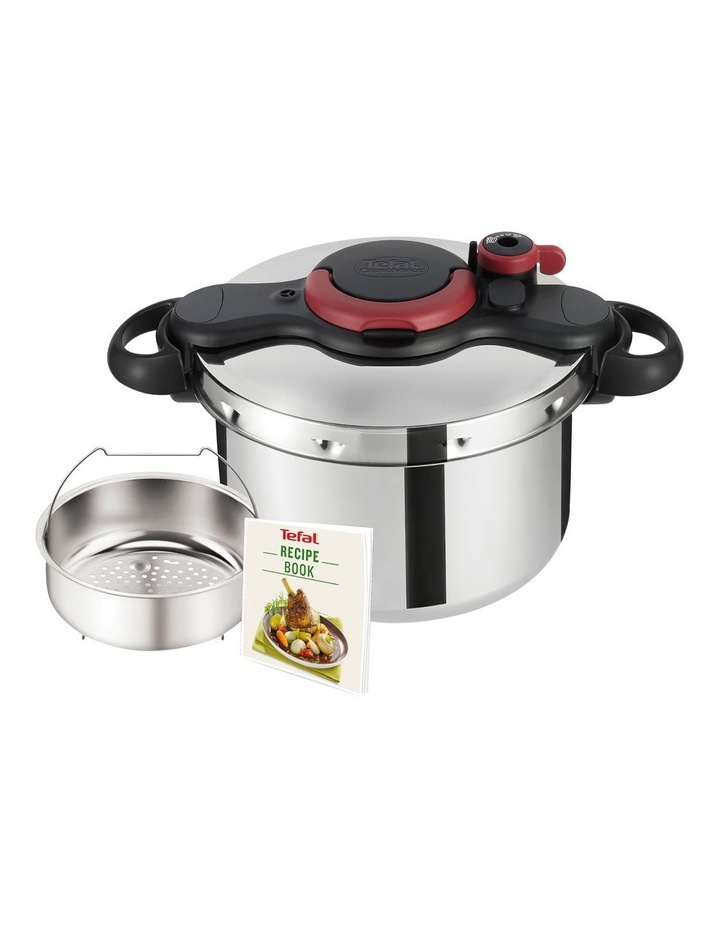 Tefal Clipso Minut Easy 7.5L - Red & Black image 3