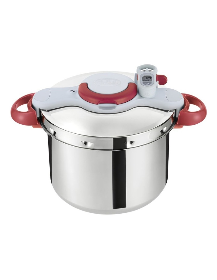 Tefal Clipso Minut Perfect 9L- Red & Light Grey image 1