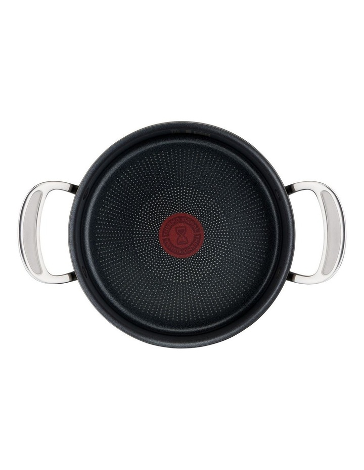 Cooks Classic 30cm Hard Anodised Induction Shallowpan with Lid in Coal Grey image 3