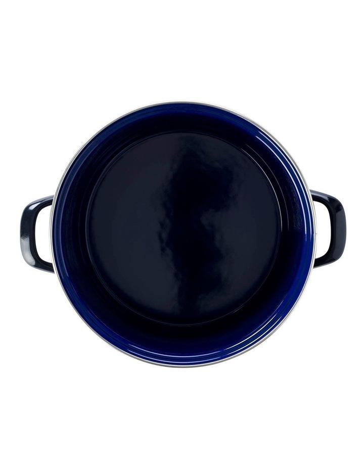 24cm/8.7L Covered Stockpot in Black image 2