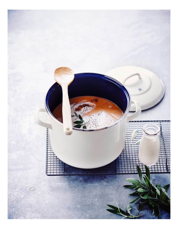 Covered Stockpot Cream 24cm/8.7L image 3