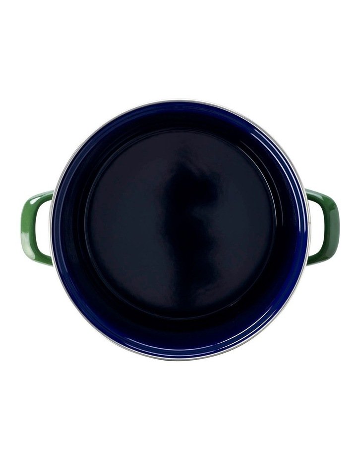 Covered Stockpot Green 24cm/8.7L image 2