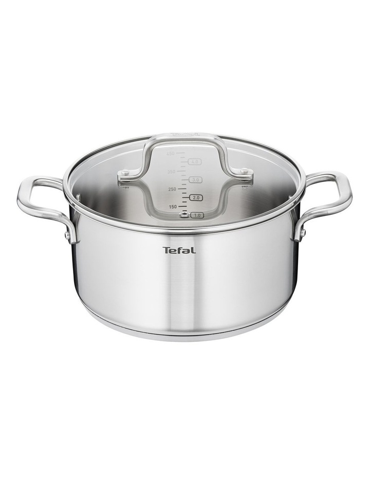 Virtuoso Stainless Steel Induction Stewpot 20cm/3L   Lid image 1