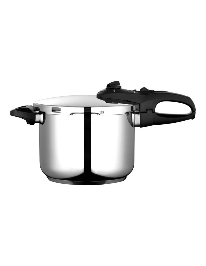 """""""Duo"""" Stainless Steel Pressure Cooker 6L image 2"""