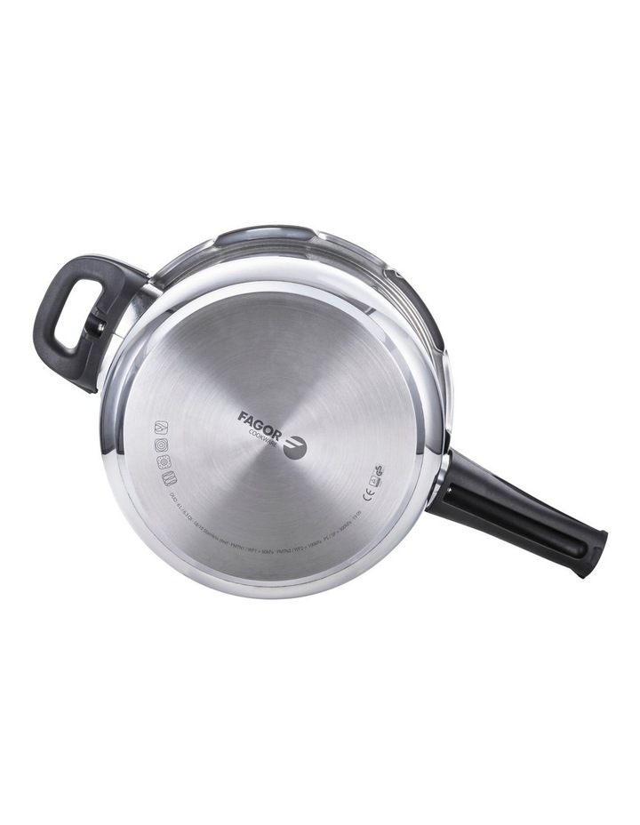 """""""Duo"""" Stainless Steel Pressure Cooker 6L image 4"""