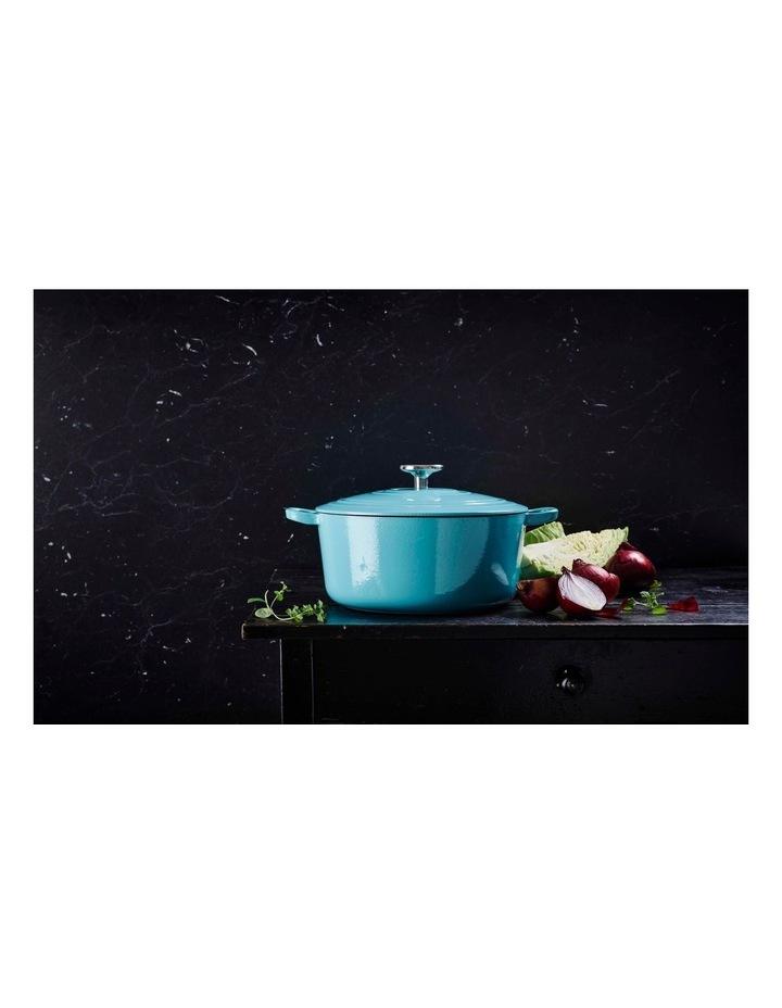 BK Bourgogne Covered Dutch Oven Aqua Blue 20cm image 3