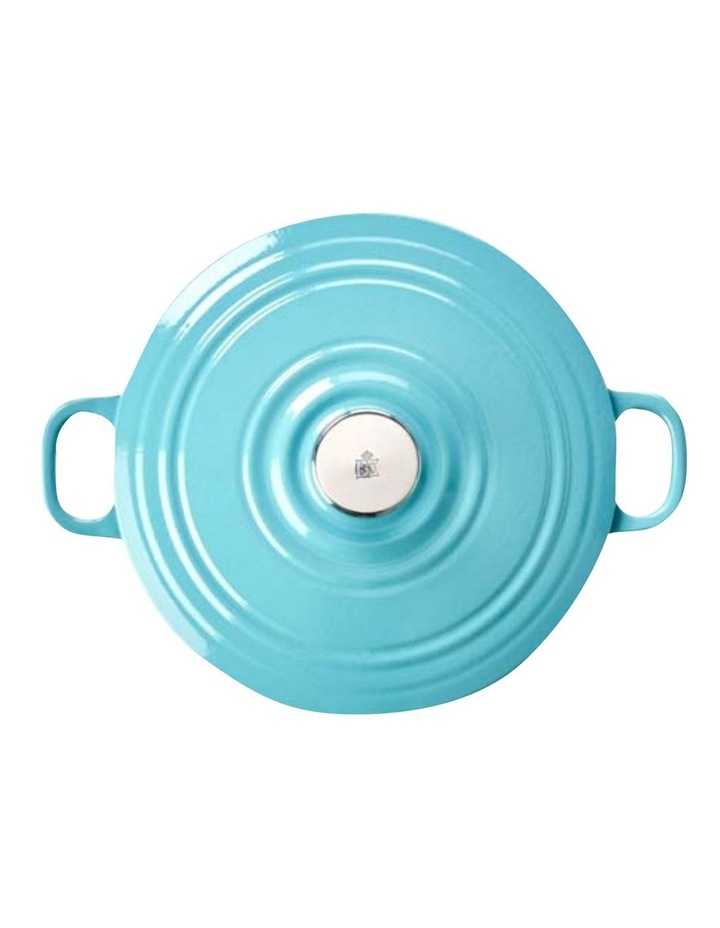 BK Bourgogne Covered Dutch Oven Aqua Blue 24cm image 2