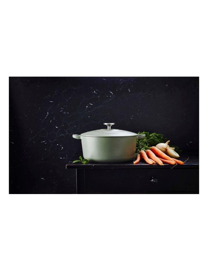 BK Bourgogne Covered Dutch Oven Olive Green 24cm image 6