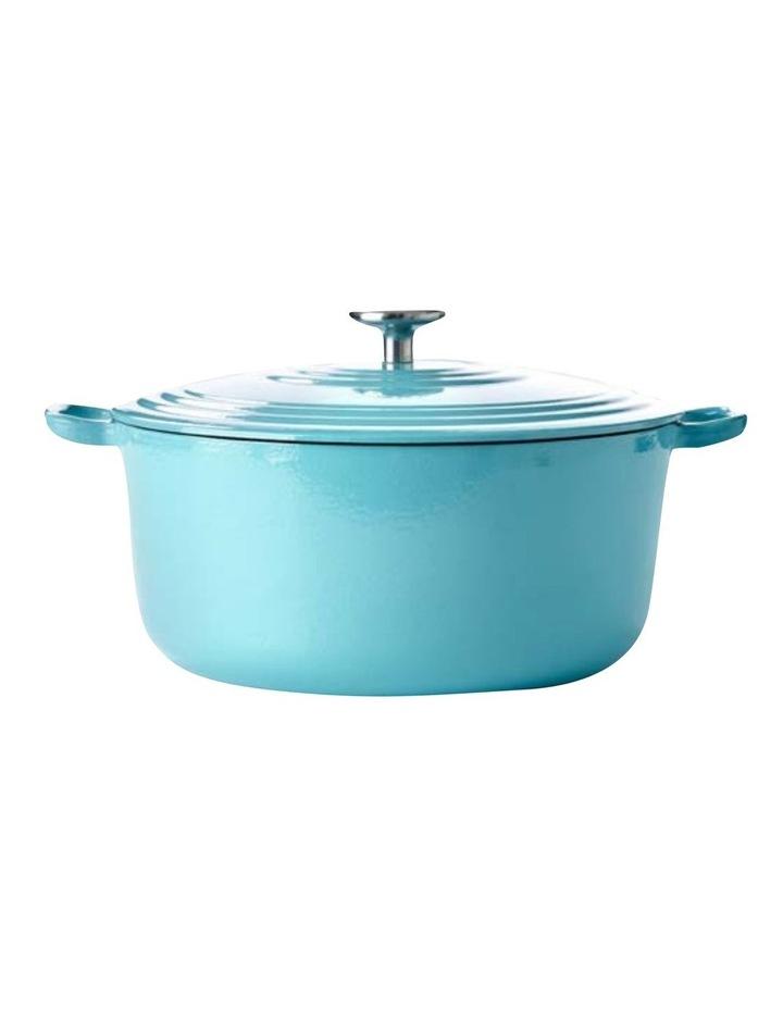 BK Bourgogne Covered Dutch Oven Aqua Blue 28cm image 1