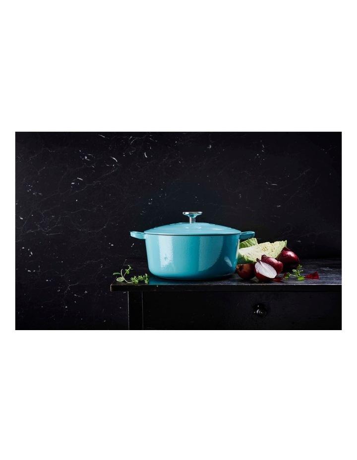BK Bourgogne Covered Dutch Oven Aqua Blue 28cm image 5
