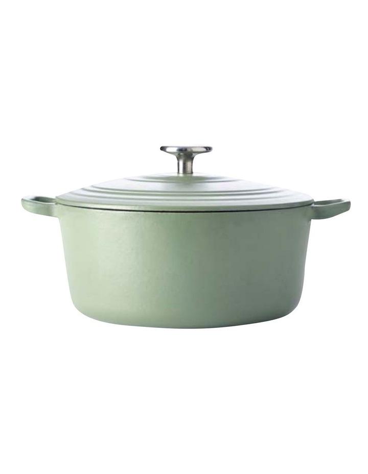 BK Bourgogne Covered Dutch Oven Olive Green 28cm image 1