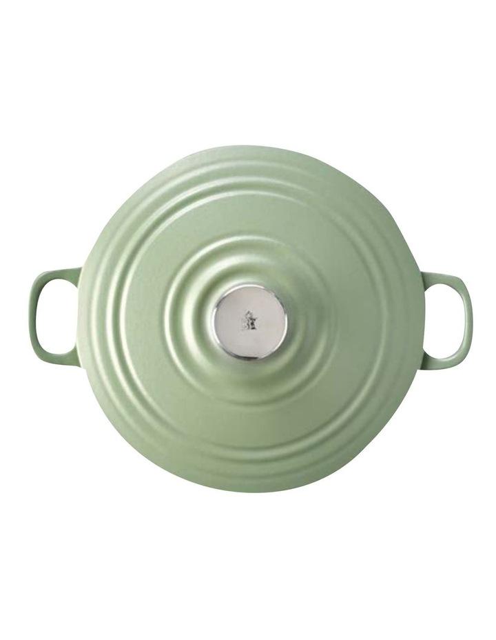 BK Bourgogne Covered Dutch Oven Olive Green 28cm image 2