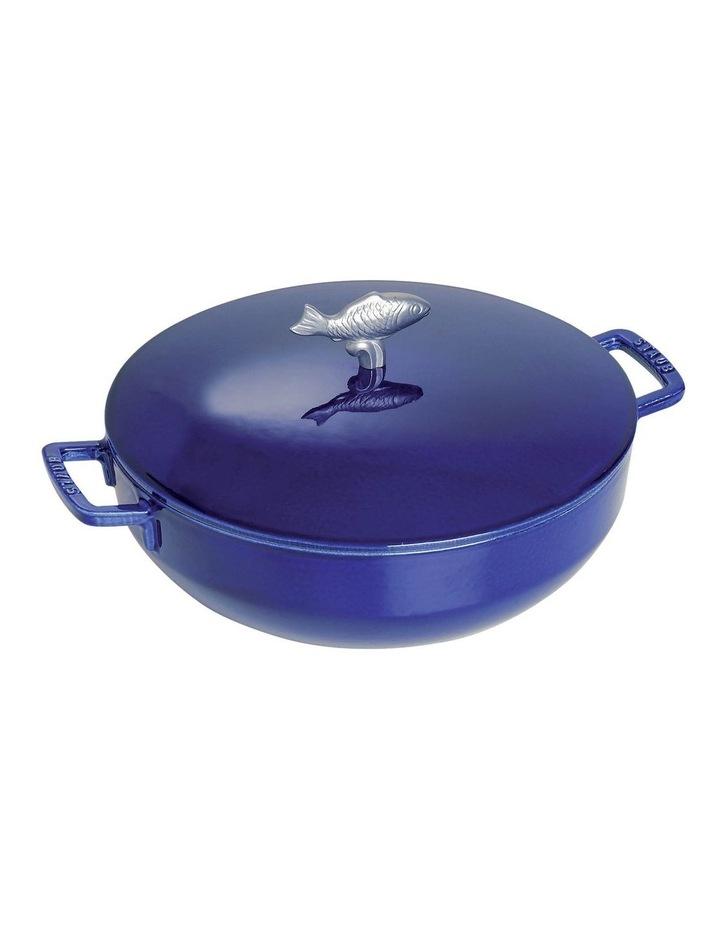 Staub Bouillabaisse Pot 28cm/4.65L - Dark Blue image 1