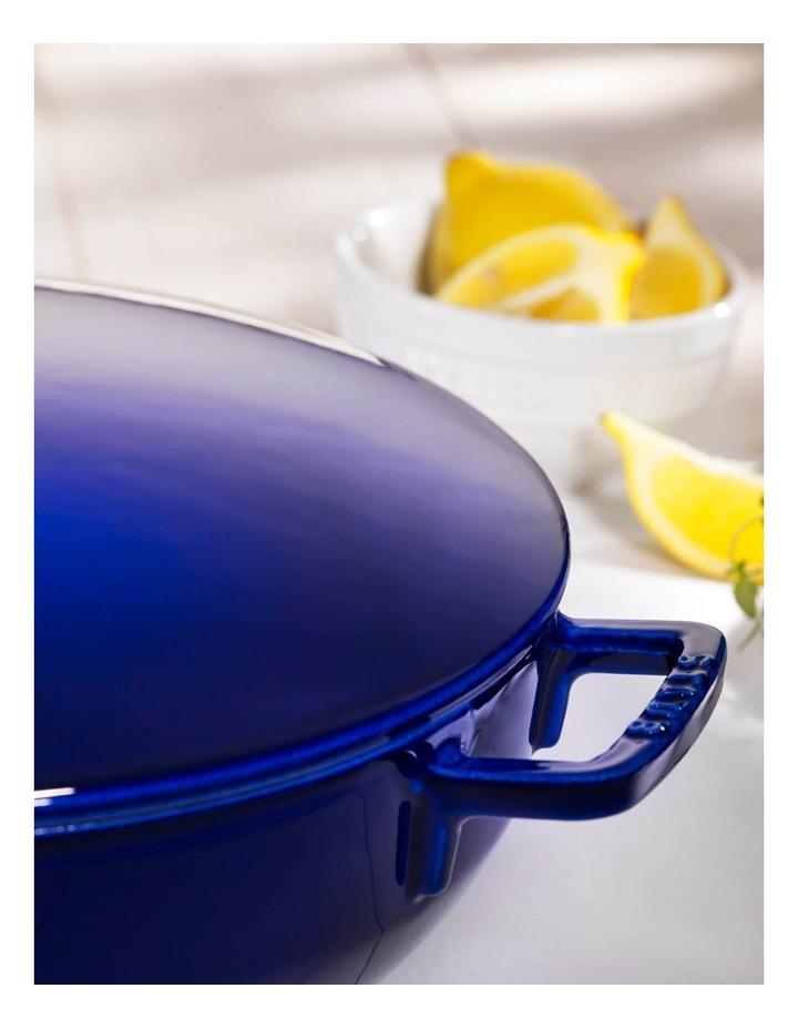 Staub Bouillabaisse Pot 28cm/4.65L - Dark Blue image 2