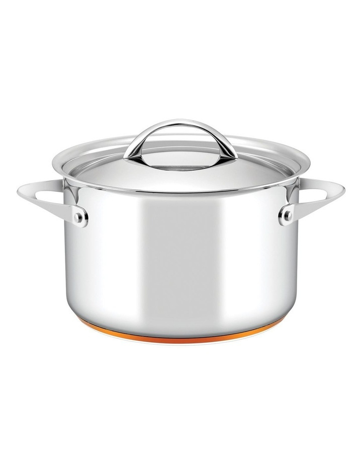 Per Vita Stainless Steel Induction Covered Stockpot 24cm/7.1L image 1