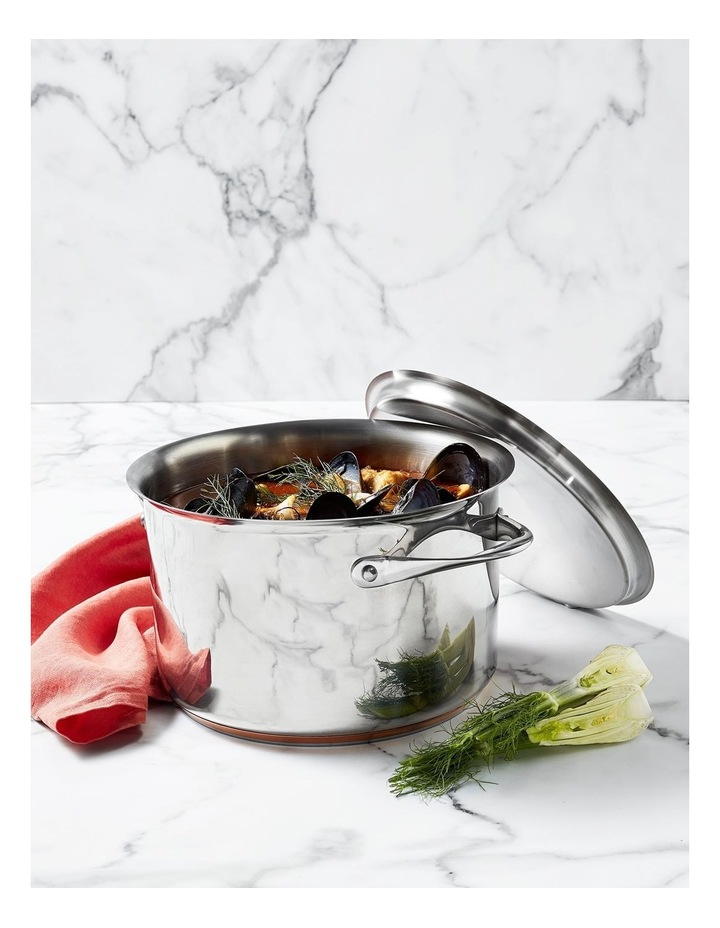 Per Vita Stainless Steel Induction Covered Stockpot 24cm/7.1L image 2