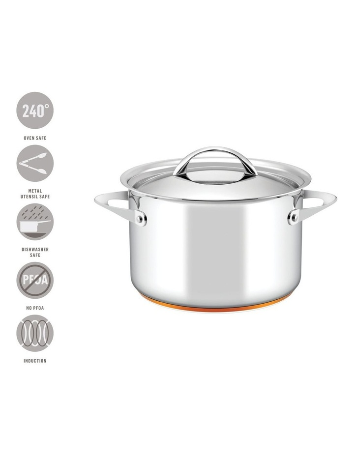 Per Vita Stainless Steel Induction Covered Stockpot 24cm/7.1L image 4