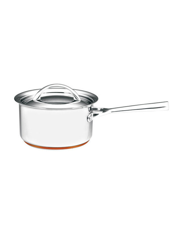Per Vita Stainless Steel Copper Saucepan: Made in Italy image 1