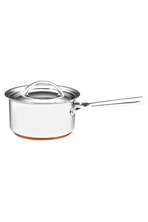 Essteele - Per Vita Stainless Steel Copper Saucepan: Made in Italy