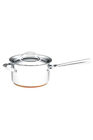Essteele - Per Vita Stainless Steel Copper 20cm/3.8L Saucepan: Made in Italy