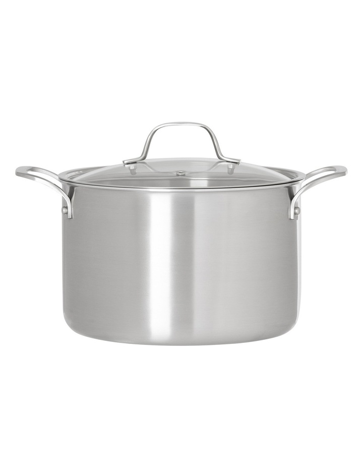 Ultima 3 Triply Stainless Steel Stockpot, 24cm/6.8L image 1