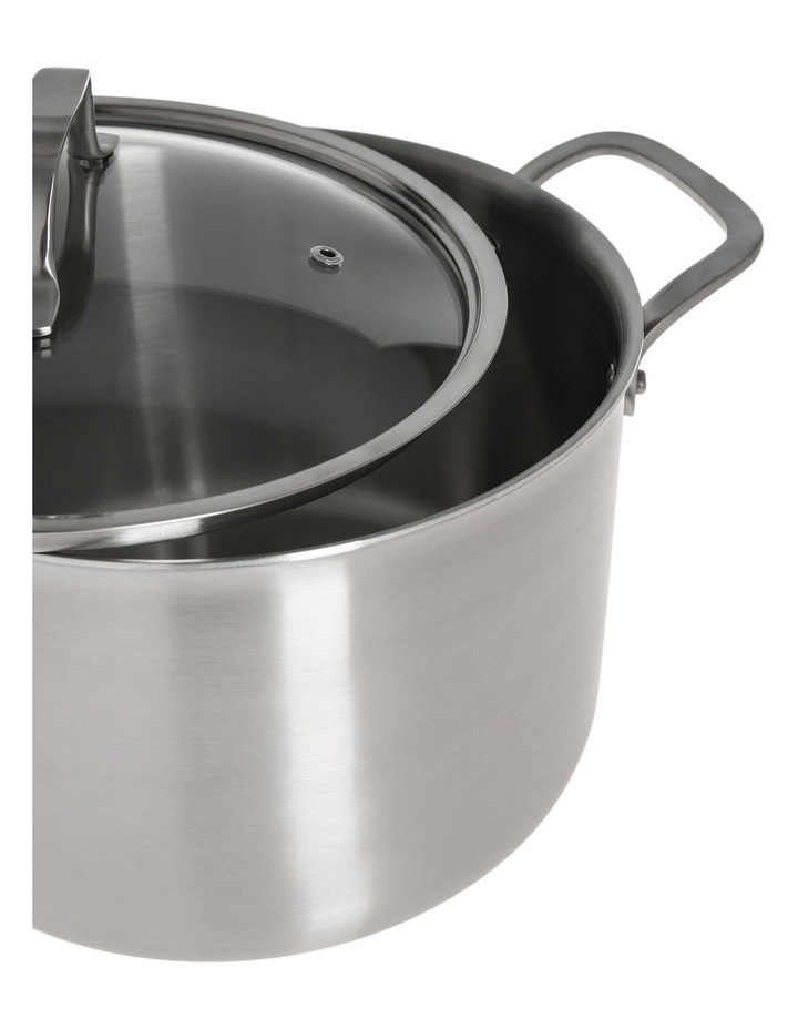 Ultima 3 Triply Stainless Steel Stockpot, 24cm/6.8L image 2