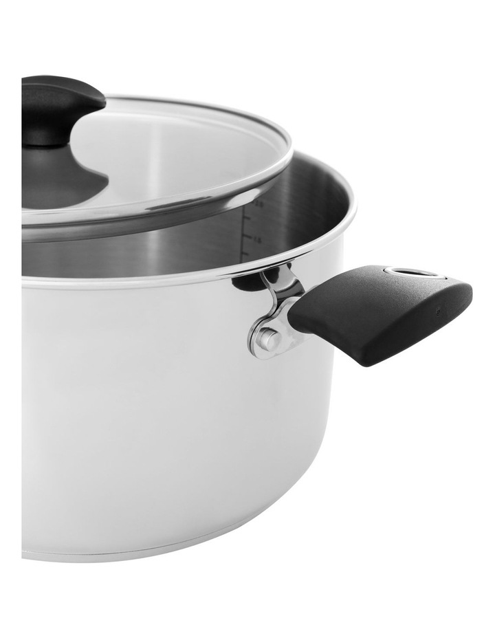 Concerto Stainless Steel 24cm/5.7L Covered Stockpot image 2