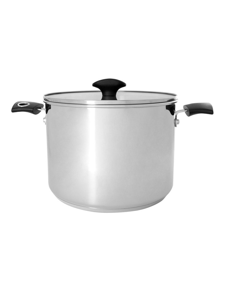 Concerto Stainless Steel 24cm/7.6L Covered Saucepan image 1