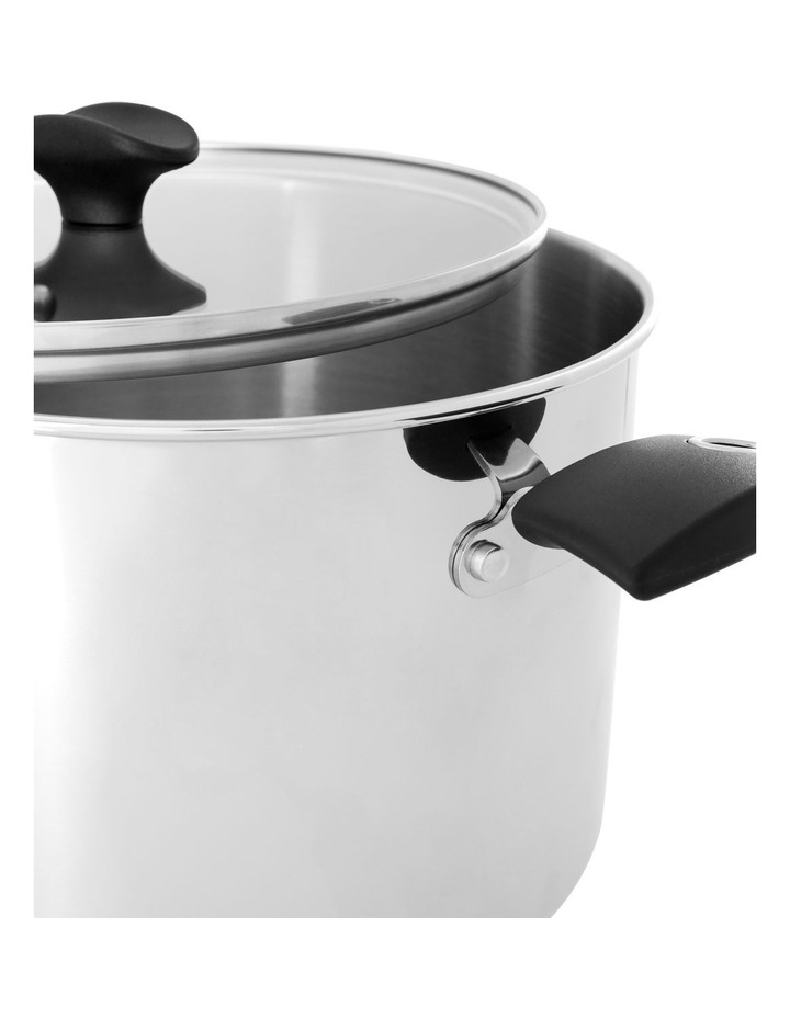 Concerto Stainless Steel 24cm/7.6L Covered Saucepan image 2