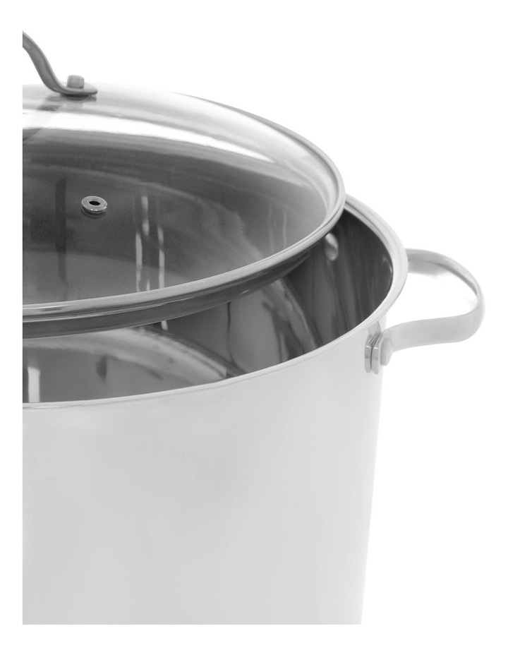 16L Stainless Steel Stockpot image 2