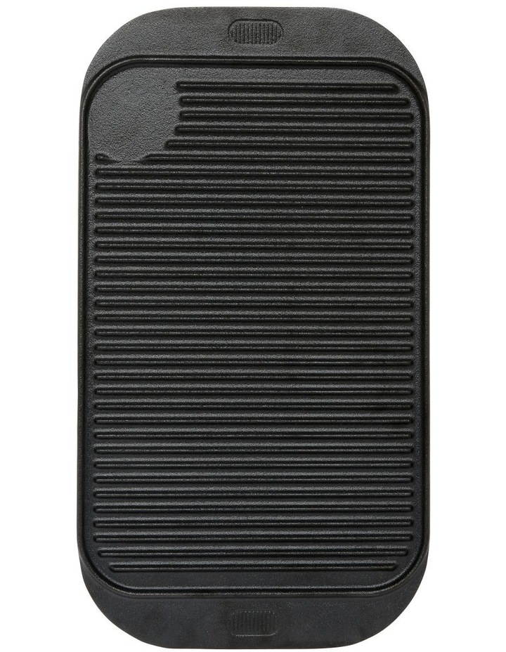Reversible Cast Iron Rectangle Grill 48cm image 1