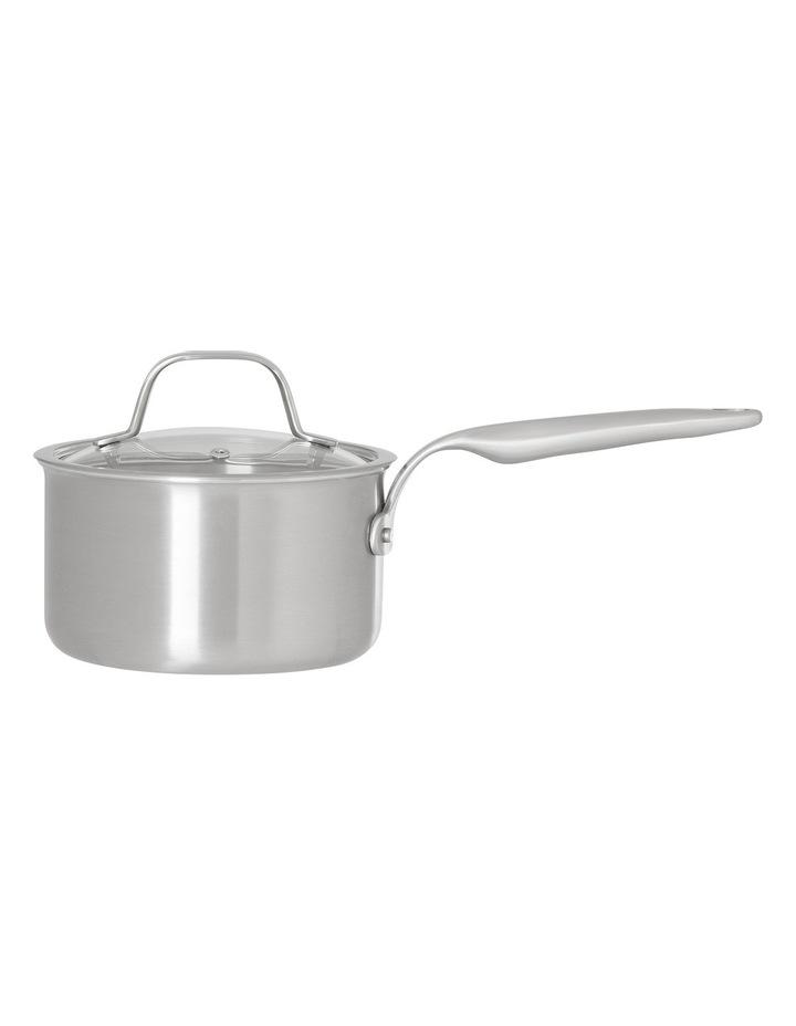 Ultima 3 Triply Stainless Steel Saucepan, 16cm/1.8L image 1
