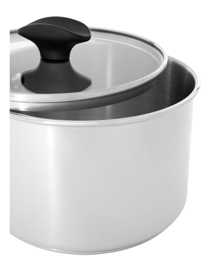 Concerto Stainless Steel 18cm/2.8L Covered Saucepan image 2