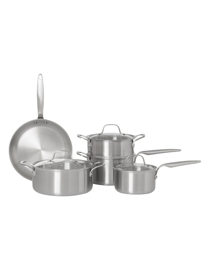 Ultima 3 Triply Stainless Steel 5 Piece Cookware Set image 1