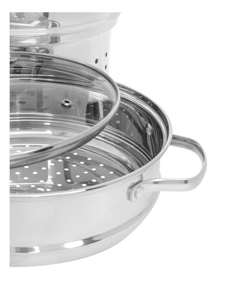 Stainless Steel 4 Piece Multi Cooker Set 8L image 3