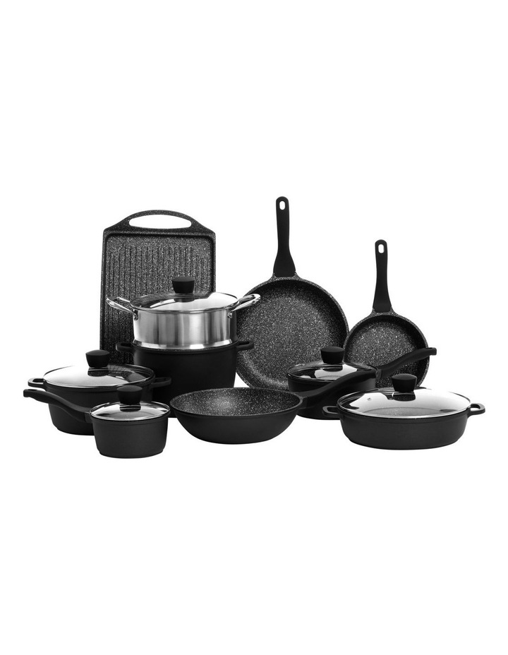 Cast Aluminium Non-Stick 10 Piece Cook Set image 1