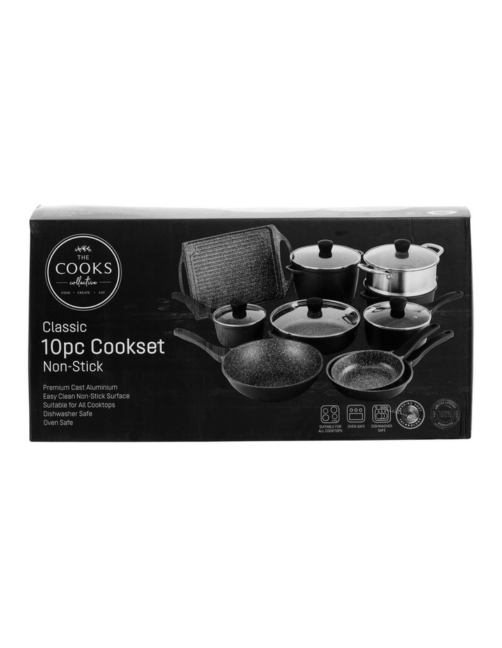 Cast Aluminium Non-Stick 10 Piece Cook Set image 7