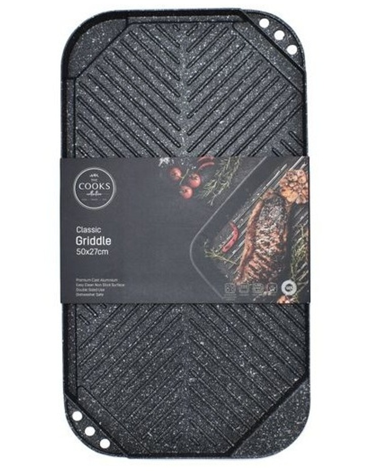 Classic Non-Stick Double Sided Griddle 50x27.5cm image 1