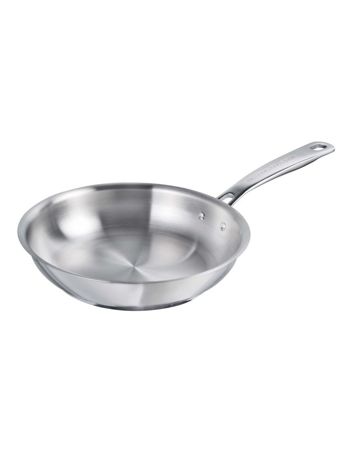 One Stainless Steel 28cm Frypan image 1