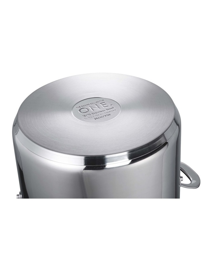 One Stainless Steel 28cm Frypan image 4