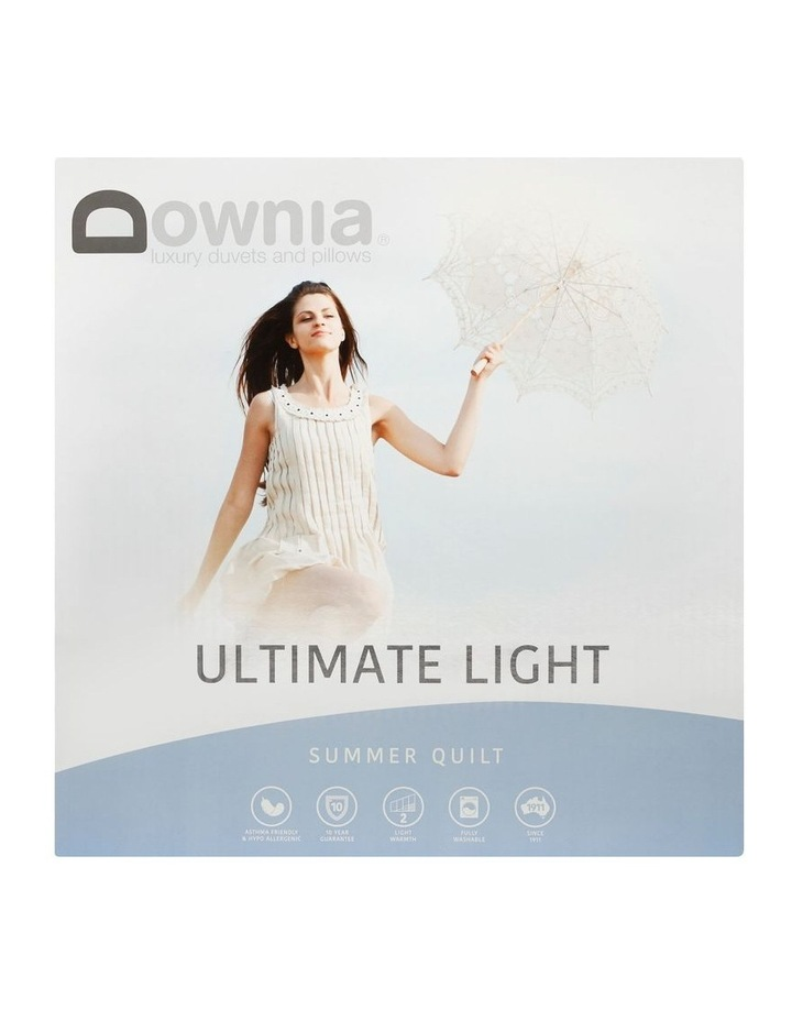 DOWNIA Ultimate Light Summer 50/50 White Duck Down & Feather image 1