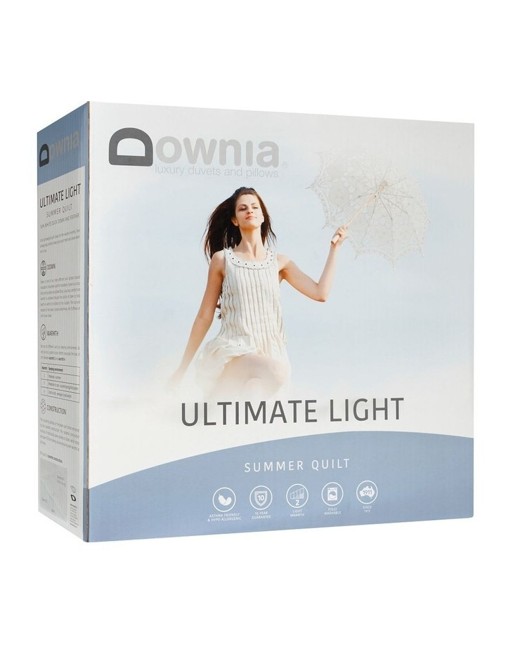 DOWNIA Ultimate Light Summer 50/50 White Duck Down & Feather image 2